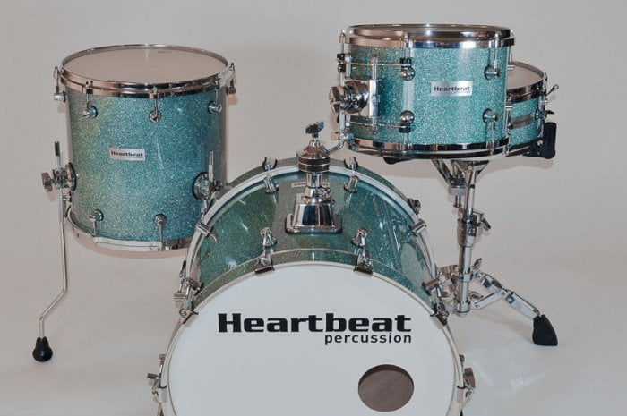 DSM Maple Drum Sets Turquoise Sparkle
