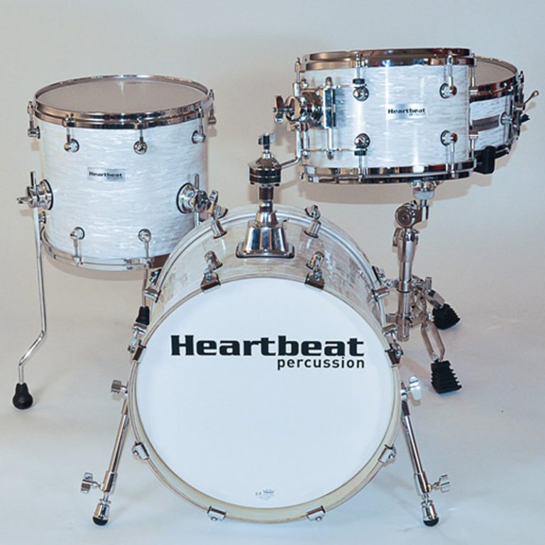 DSM Maple Drum Sets Vintage White