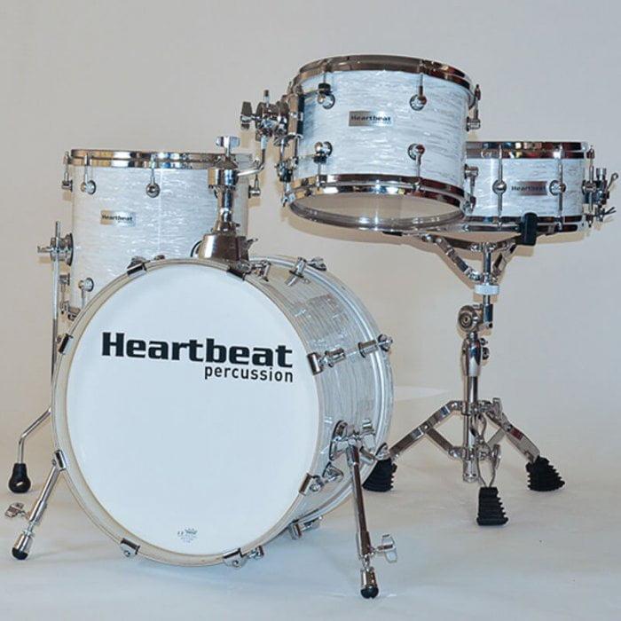 DSM Maple Drum Sets Vintage White