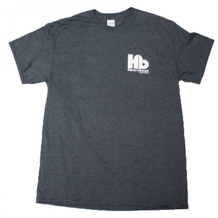 Heartbeat Tee Shirts Grey